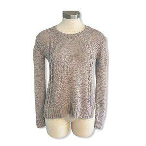 Prana Womens Sweater Open Knit Stretchy